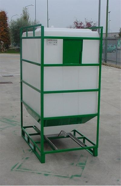 Conteneur Reservoir Plastique Rectangulaire pour Produits Légers - PE PEHD HDPE