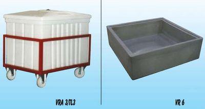 cuve r servoir plastique rectangulaire et bac de r tention. Black Bedroom Furniture Sets. Home Design Ideas