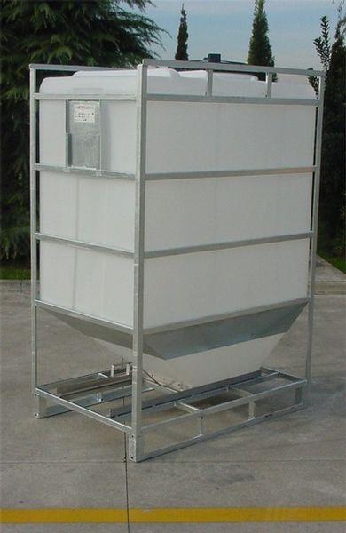 conteneur reservoir plastique rectangulaire pour produits. Black Bedroom Furniture Sets. Home Design Ideas
