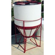 Décanteur Plastique Cylindrique avec Tube d'Alimentation Centrale - PE PEHD HDPE