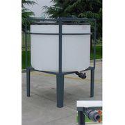 Cuve Réservoir Plastique Verticale Cylindrique Vidange Totale - PE PEHD