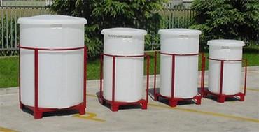 Cuve Réservoir Plastique avec Couvercle Amovible-PE-PEHD-HDPE